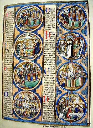 天井のエルサレム『トレドの聖書』