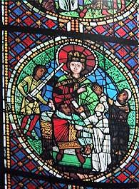 ステンドグラス「ソロモン王」