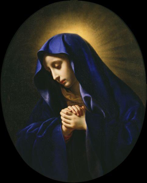 悲しみの聖母 西洋美術館