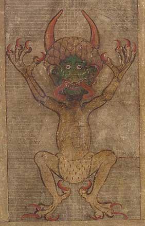 「悪魔のバイブル」問題の悪魔