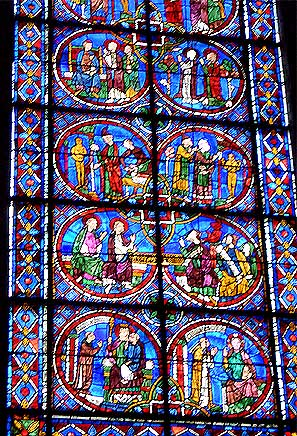 シャルトル大聖堂 ステンドグラス