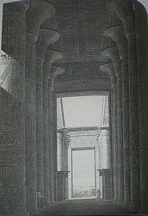 カルナック 神殿の内部
