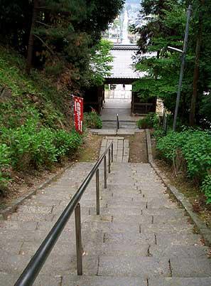 帰りの階段