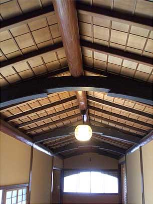 旧岩崎邸 和館とつながる廊下
