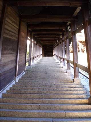 二月堂の階段