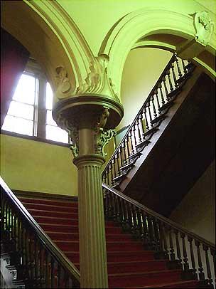 北海道庁旧本庁舎 室内 階段