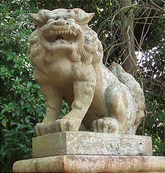 宇治神社 狛犬