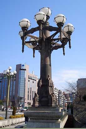 四谷の街灯