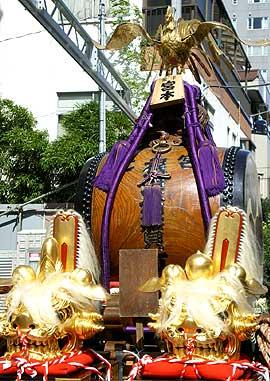 根津神社 神輿2
