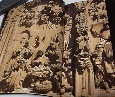 スペインのサラマンカ、新大聖堂、東方の三博士