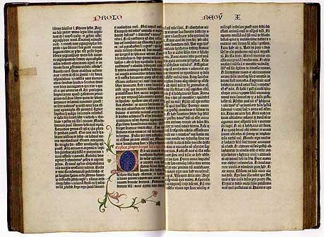 グーテンベルク聖書1