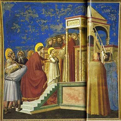 マリアの神殿奉献