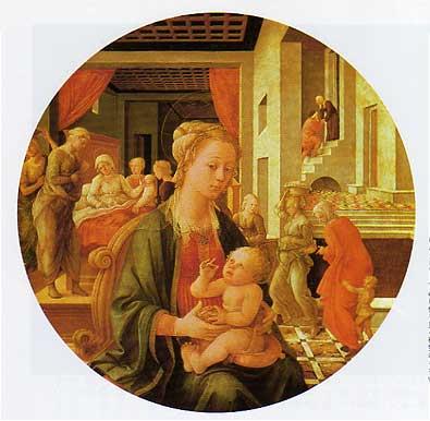 フィリッポ・リッピ 聖母子