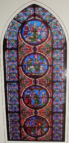 サン・ドニ修道院のステンドグラス