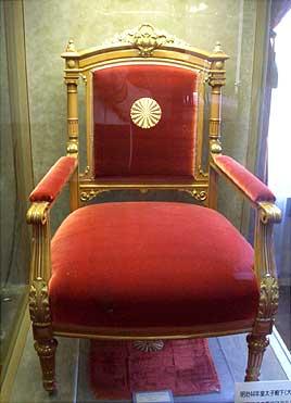 豊平館 椅子