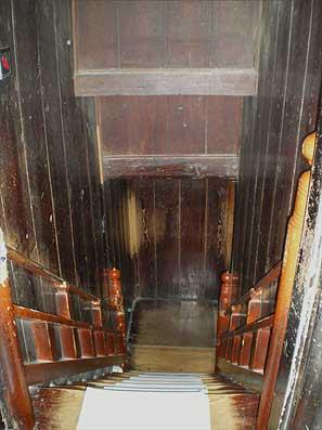 善光寺 戒壇巡り 暗闇への階段