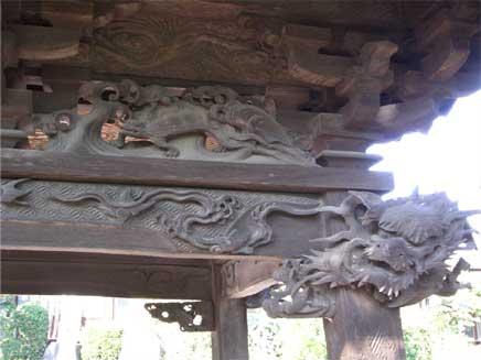 極楽寺 彫り