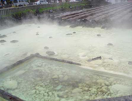 草津温泉 湯畑2