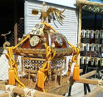 根津神社 神輿 1